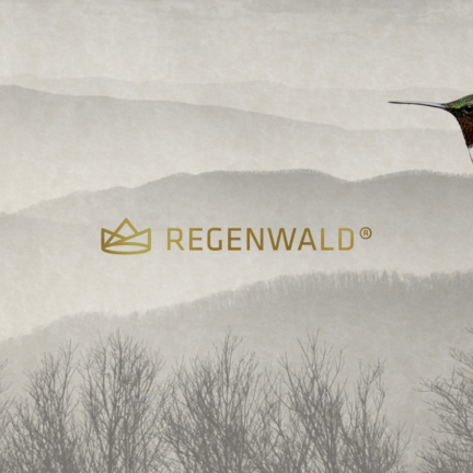 Bill Rogers Design - Regenwald - Rainforest Book Publishers Imprint- Logo Design - Brand Identity Design