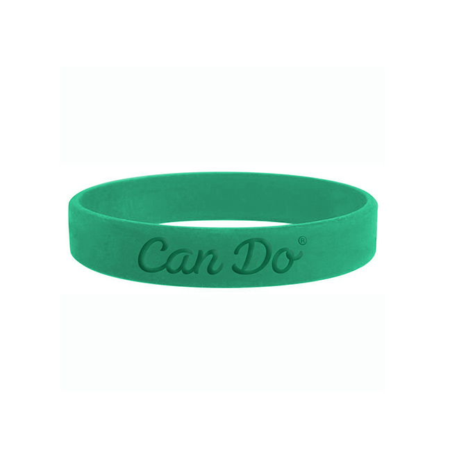 Bill Rogers Design - Can Do - Silicon Bracelet Promotional Item