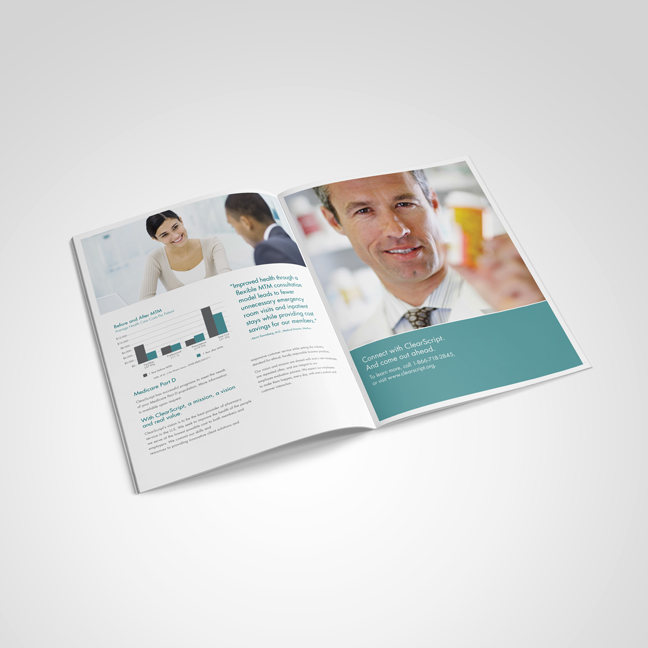 Bill Rogers Design - Fairview Pharmacy ClearScript Total Organizational Health - Brochure Design - Brand Identity Design