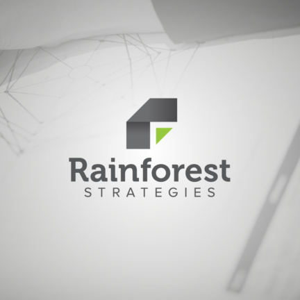 Bill Rogers Design - Rainforest Strategies - Logo Design - Brand Identity Design