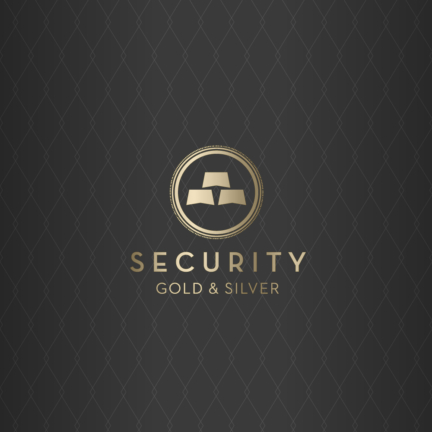 Bill Rogers Design - Security Gold & SIlver - Logo Design - Brand Identity Design
