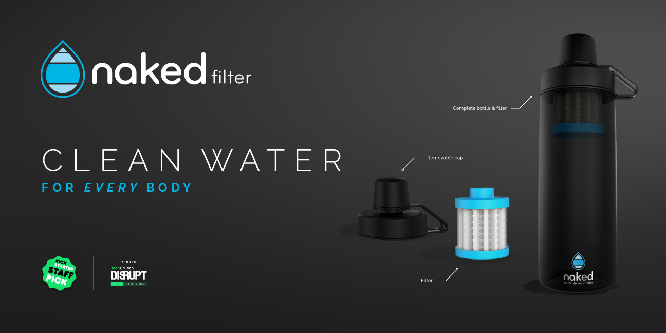 Bill Rogers Design - Naked Filter - Kickstarter Campaign - Header Graphic