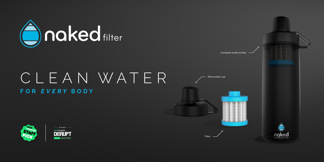 Bill Rogers Design - Naked Filter - Kickstarter Campaign - Header Graphic