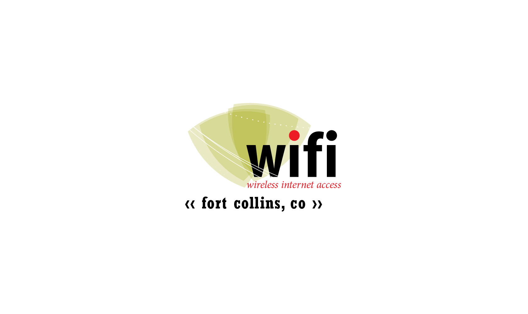 Bill Rogers Design - City of Fort Collins, Colorado - Wifi Logo - Logo Design - Brand Identity Design