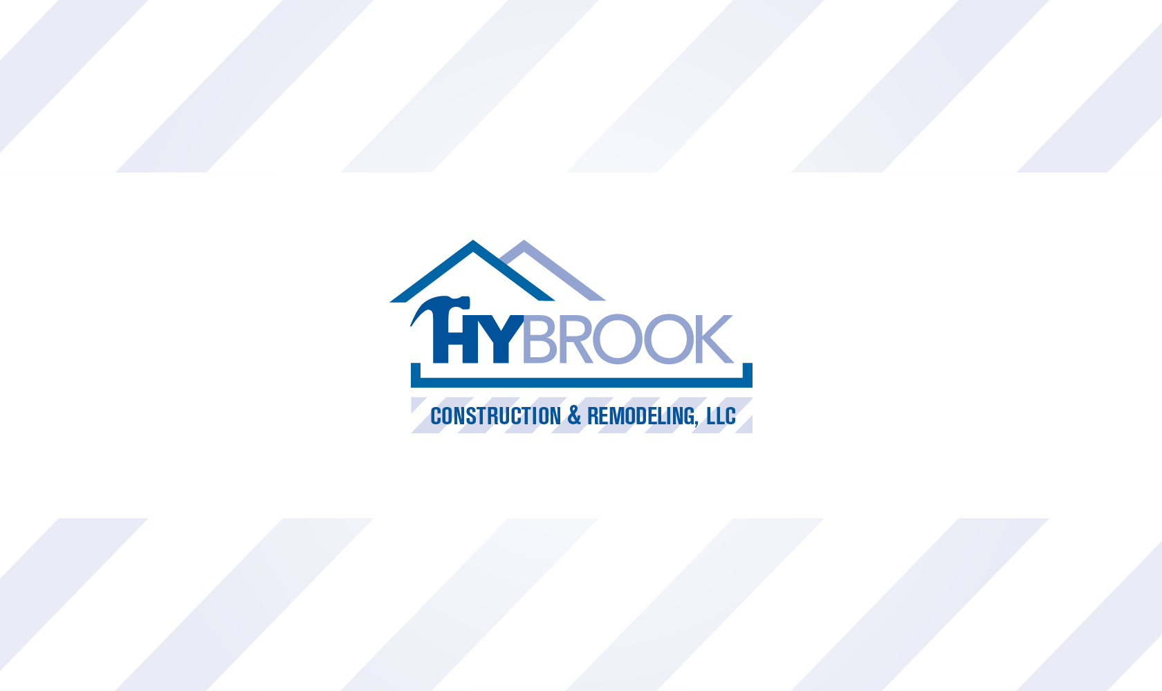 Bill Rogers Design - Hybrook Construction & Remodeling, LLC - Logo Design - Brand Identity Design