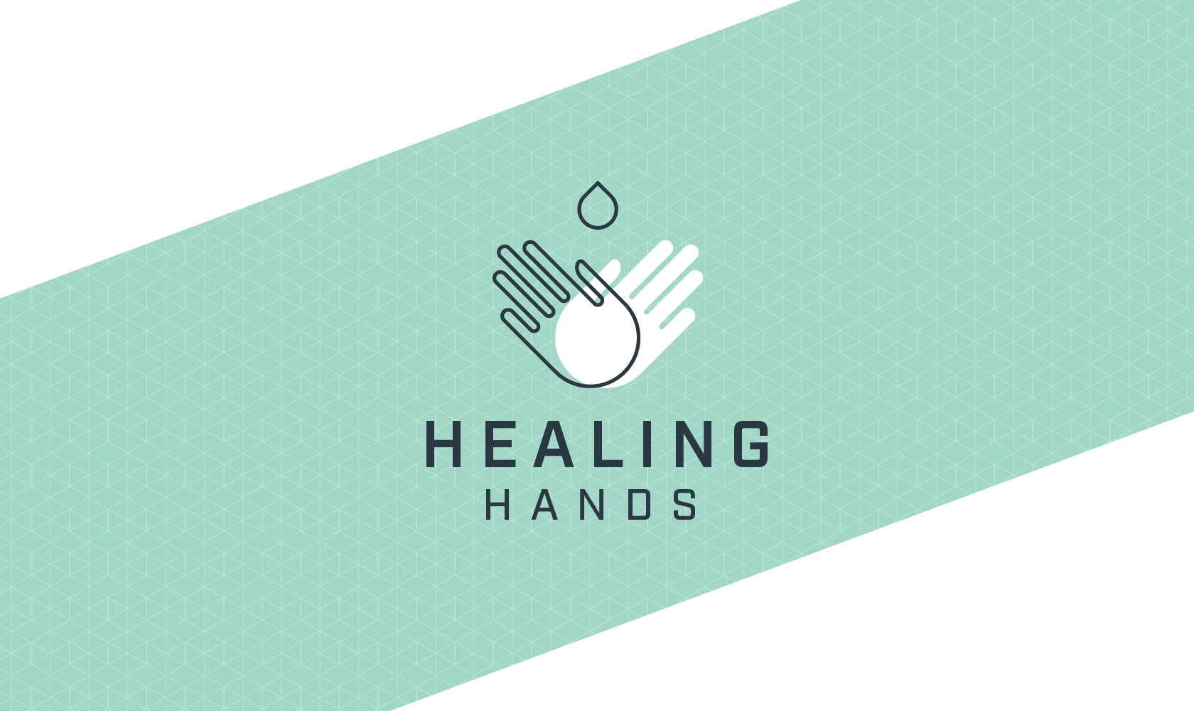 Bill Rogers Design - Healing Hands - Fairview C Diff Campaign - Logo Design