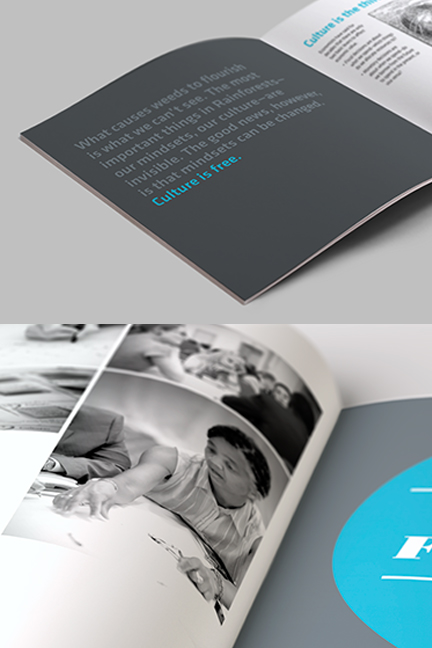Bill Rogers Design - Regenwald - Rainforest Blueprint Book - Book Design - Brand Identity Design