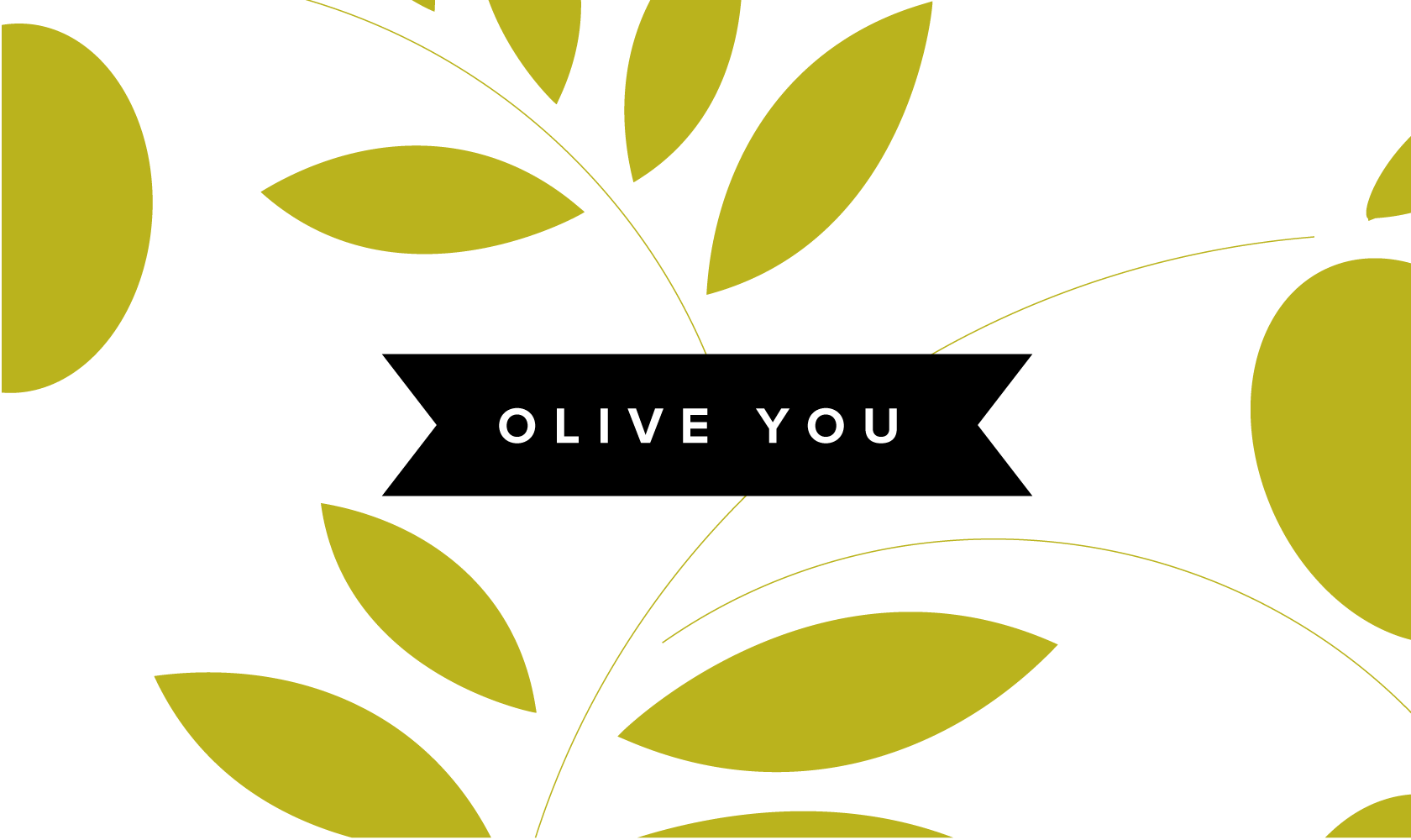 Bill Rogers Design - Olive You - Logo Design
