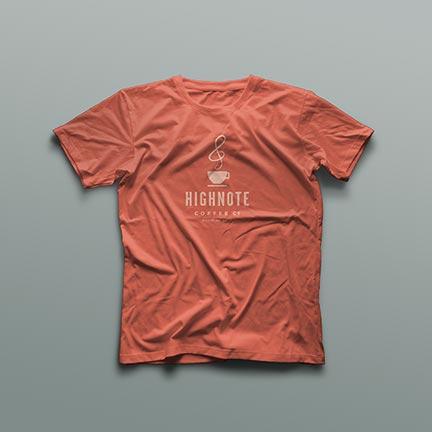 Bill Rogers Design - High Note Coffee Tshirt